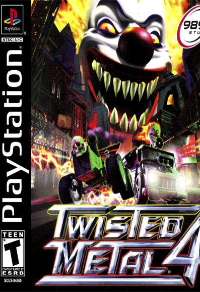 دانلود بازی پلی استیشن Twisted Metal 4 برای Pc