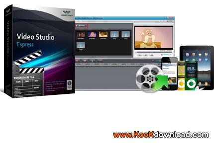 نرم افزار ویرایش فیلم ها و ساخت اسلایدشو  Video Studio Express v1.2.0.4