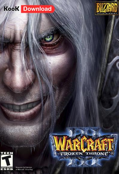 دانلود بازی Warcraft III The Frozen Throne نسخه فارسی – وارکرافت ۳ تخت یخ زده
