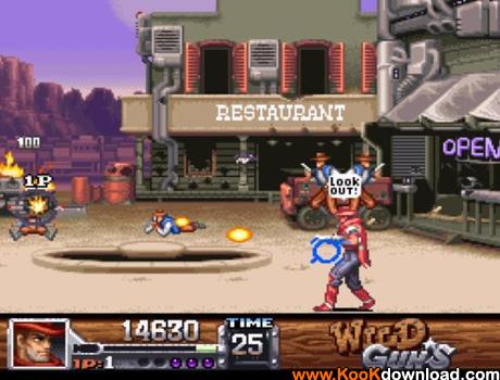 دانلود بازی نینتندو Wild-Guns