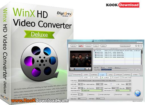 دانلود مبدل و ویرایشگر ویدیو WinX HD Video Converter Deluxe 5.15.2