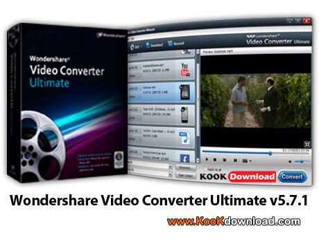 نرم افزار Wondershare Video Converter Ultimate v5.7.1