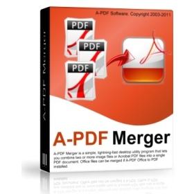 A-PDF Merger 4.8 Windows نرم افزار چسباندن فایل های