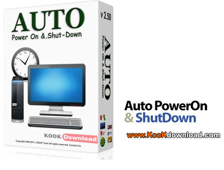 روشن و خاموش نمودن اتوماتیک سیستم Auto PowerOn & ShutDown v2.50