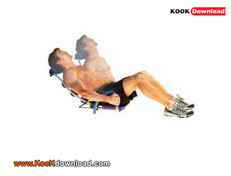 آموزش تصویری تمرین حرکات ورزشی برای آب کردن پهلو با عکس