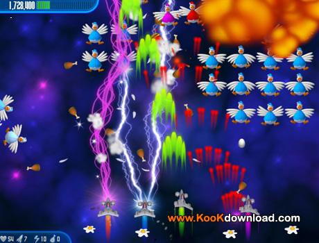 دانلود نسخه کریسمس مرغ های مهاجم Chicken Invaders 3 Christmas Edition