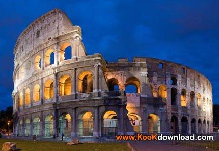 کولوسئوم coliseum معروفترین آمفی تئاتر دایره وار(بیضی) عظیم تاریخ