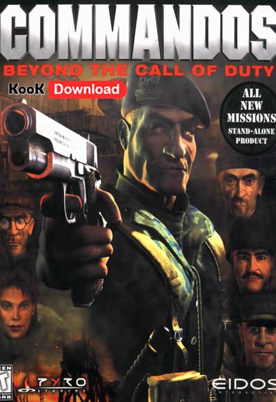 commandos  Beyond Call of Duty 2 دانلود بازی استراتژیک کماندوز