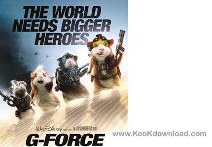 دانلود زیرنویس انیمیشن جدید و فوق العاده زیبای G-Force محصول سال ۲۰۰۹