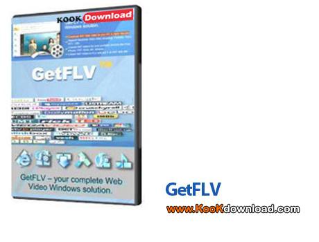 دانلود GetFLV Pro v9.0.3.7 – نرم افزار دانلود و اجرای فایل های تصویری FLV در کامپیوتر