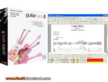 دانلود ابزاری برای یادگیری نواختن ساز گیتار GuitarPro 5.3