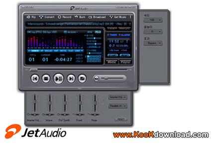 برنامه پخش فایلهای مولتی مدیا JetAudio Plus 8.1.7.20702 VX Full