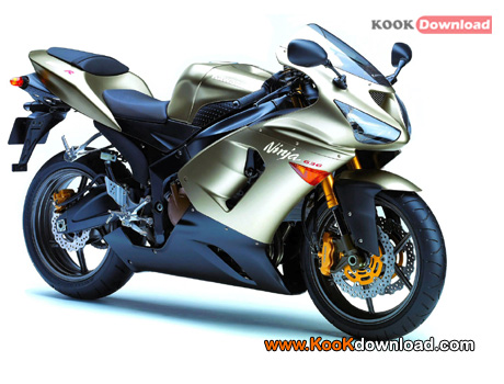 عکس موتورهای زیبا Wallpapers Kawasaki