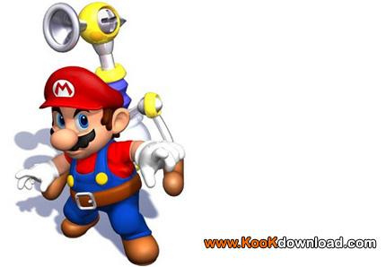 بازی کامپیوتر ماریو قارچ خور بدون نیاز به نصب کم حجم Portable Mega Mario
