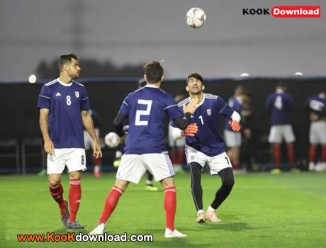حضور خبرنگاران چینی در تمرین تیم ملی فوتبال ایران