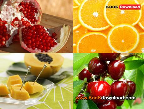 دانلود مجموعه تصاویر زیبا و باکیفیت از میوه ها Fruits Wallpaper