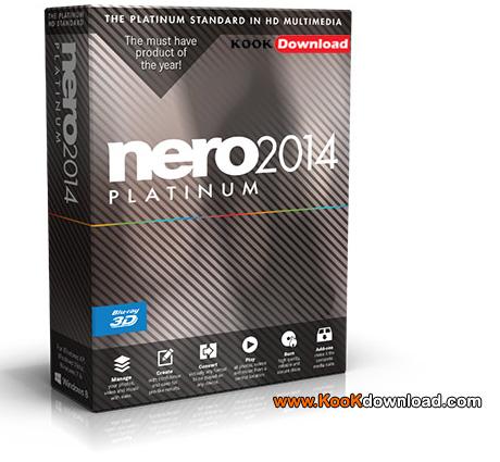 دانلود نرم افزار نرو Nero 2014 Platinum v15.0.02200 مجموعه ابزارهای Nero