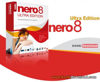 دانلود قدرتمندترین نرم افزار رایت حرفه ای با Nero 8 Micro v8.1.1.3