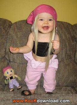 عکس دختر بچه زیبا