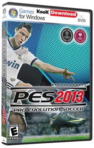 دانلود بازی pes evolution soccer 2013 با گزارش فارسی جواد خیابانی