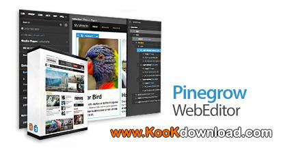 Pinegrow Web Editor Pro 5.41  نرم افزار ساخت صفحات وب