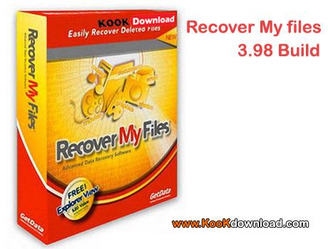 نرم افزار بازیابی اطلاعات و بازیابی فایل های پاک شده Recover My Files 3.98 Build 6419