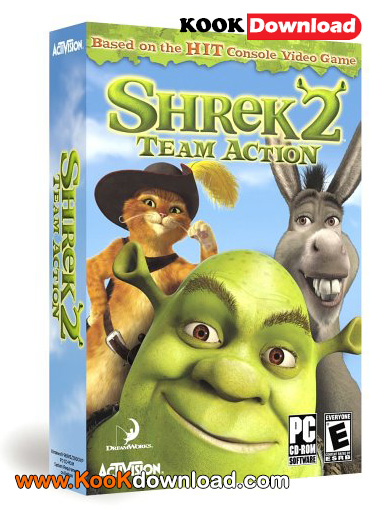 دانلود بازی Shrek 2 شرک ۲ برای کامپیوتر