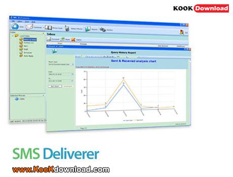نرم افزار بی نظیر ارسال اس ام اس انبوه SMS Deliverer Enterprise