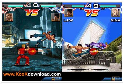 بازی جدید موبایل تکن به نام Tekken Mobile Bluetooth