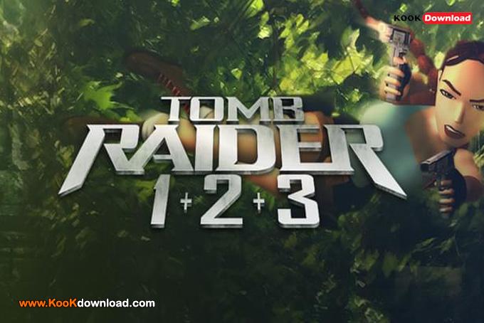 دانلود مجموعه بازی Tomb Raider 1 2 3