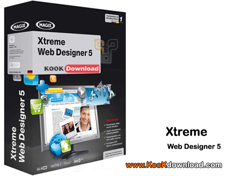 طراحی حرفه ای وب با MAGIX Xtreme Web Designer v5.0.10354